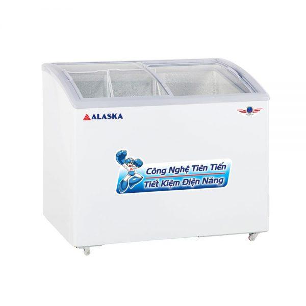 Tủ đông kính cong Alaska SD-501Y