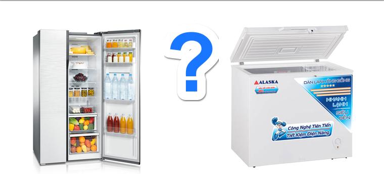 tủ đông hay tủ lạnh
